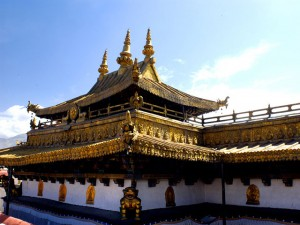 Jokhang Temple Top Roof