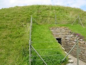 Maeshowe Entrance