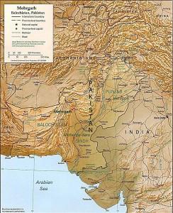 Mehrgarh Map