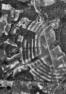 Monumental Earthworks of Poverty Point Ariel View