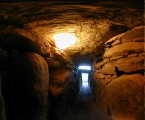 Newgrange Inside Passageway