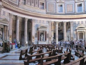 Pantheon Inside View