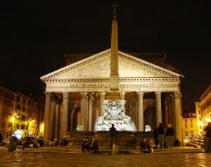 Pantheon Night View