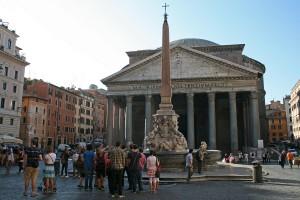 Pantheon and the Fontana Del Pantheon