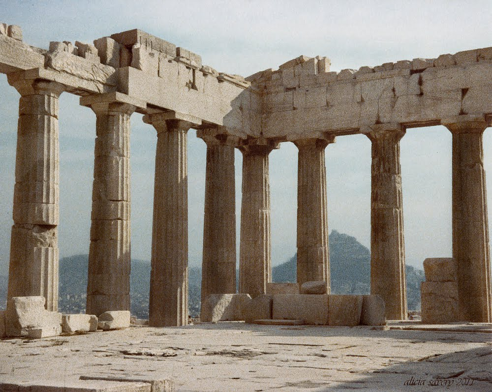 a short history of the parthenon