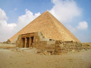 Pyramid of Khafre Entrance