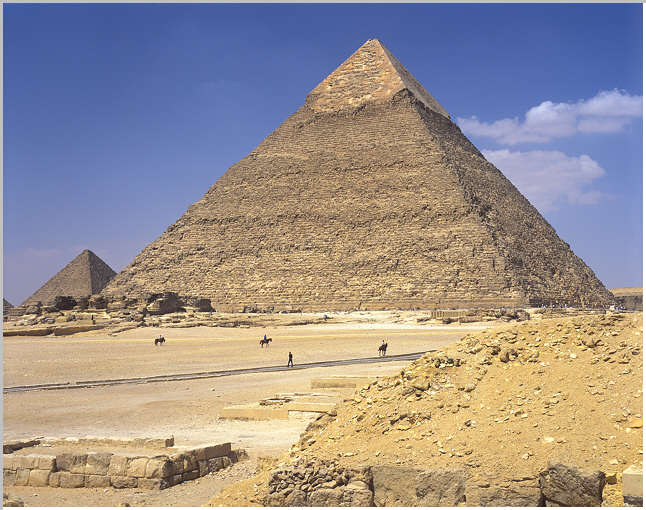 Pyramid of Khafre Historical Facts and Pictures | The ...