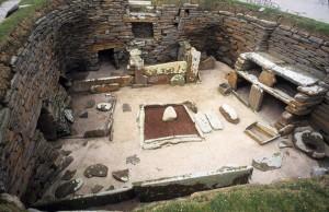 Skara Brae Houses