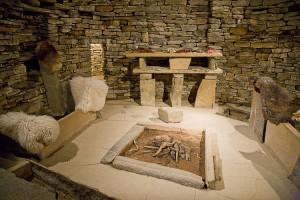 Skara Brae Inside