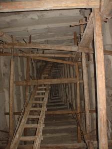Stairways Inside Bent Pyramid