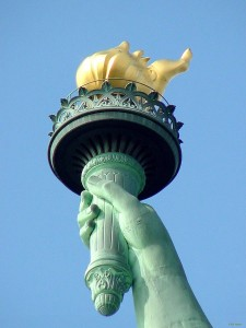 Statue of Liberty Torch Pictures