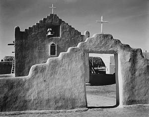 Taos Pueblo Ansel Adams Church