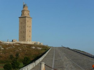 Tower of Hercules Entrance