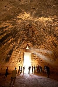Treasury of Atreus Inside