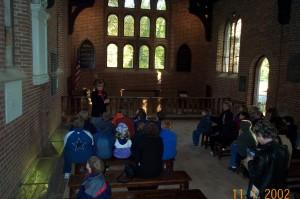 Jamestown Church Inside