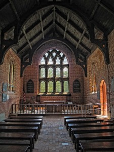 Jamestown Church Interior