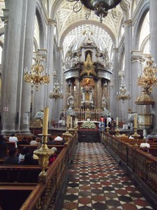 Interior of Catedral Puebla