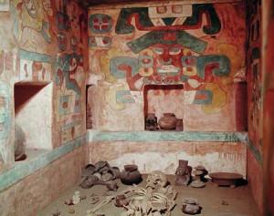 Monte Alban Tomb