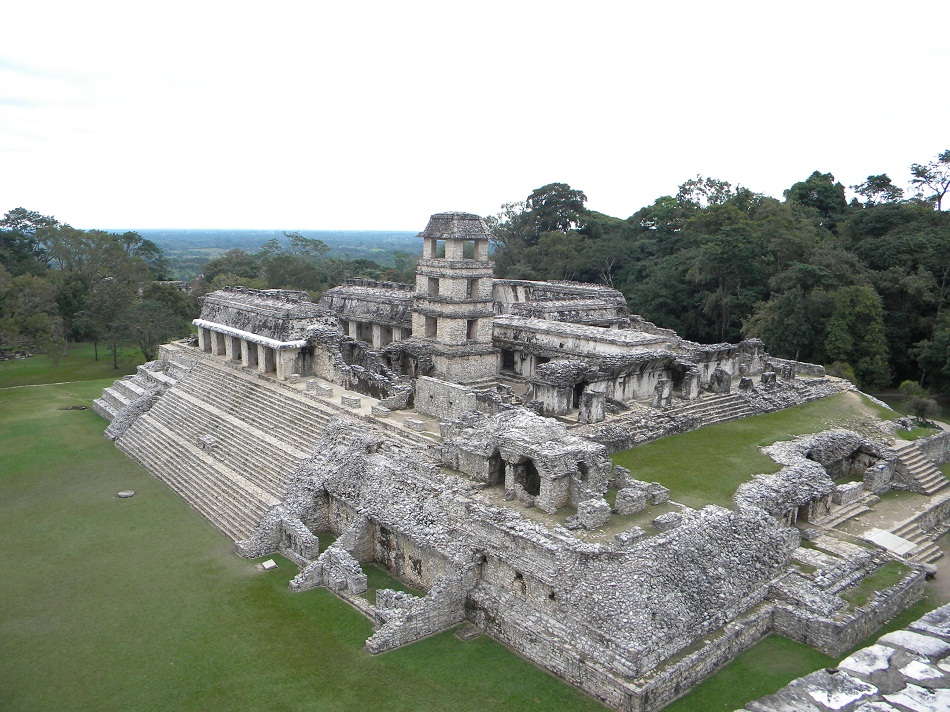 Pre hispanic city and national park of palenque historical