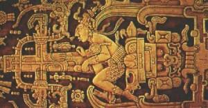 Palenque Slab Astronaut