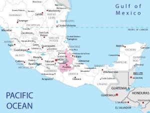 Puebla Map