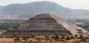 Sun Pyramid of the Teotihuacan