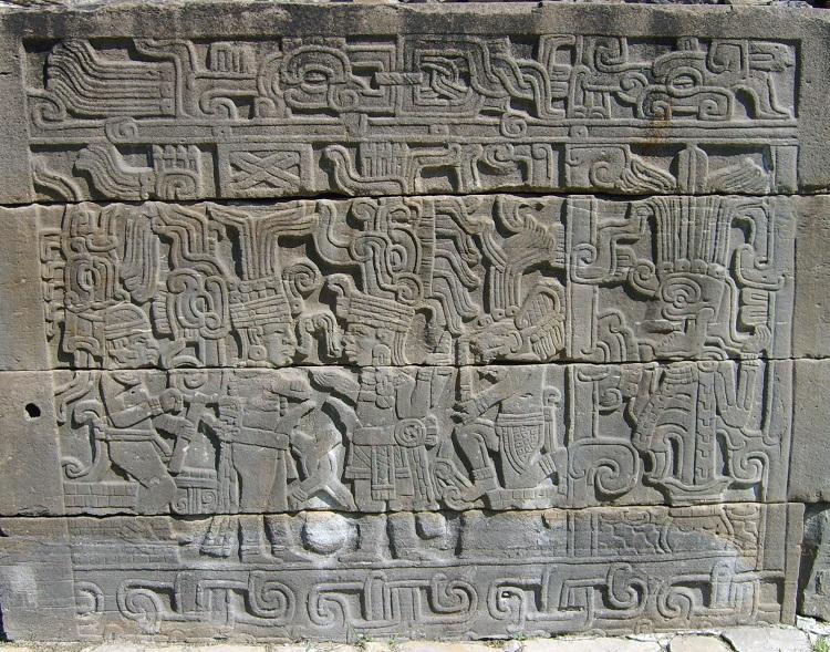 Tajin Building  Sculpture
