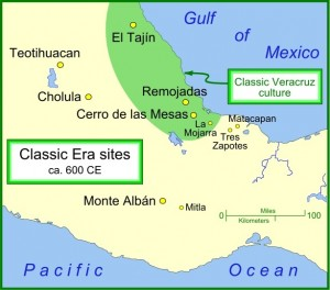 El Tajin Map