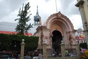 Hidalgo Market Entrance