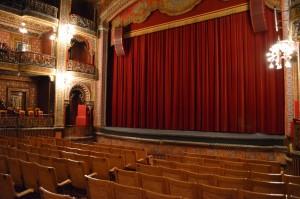 Inside of Teatro Juarez