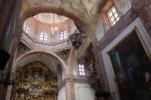 La Valenciana Church Inside