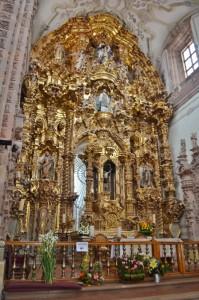 La Valenciana Church Inside View
