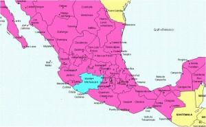 Morelia Map