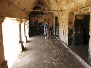 Inside of Uxmal
