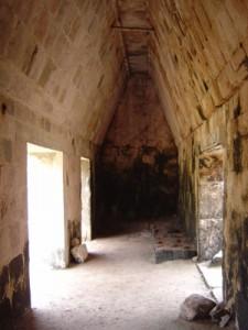 Uxmal Governor Palace Inside