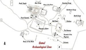 Uxmal Map