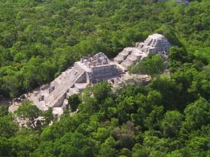 Calakmul Top View