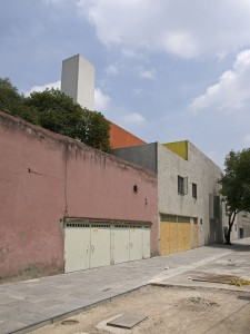 Luis Barragan House and Studio Exterior