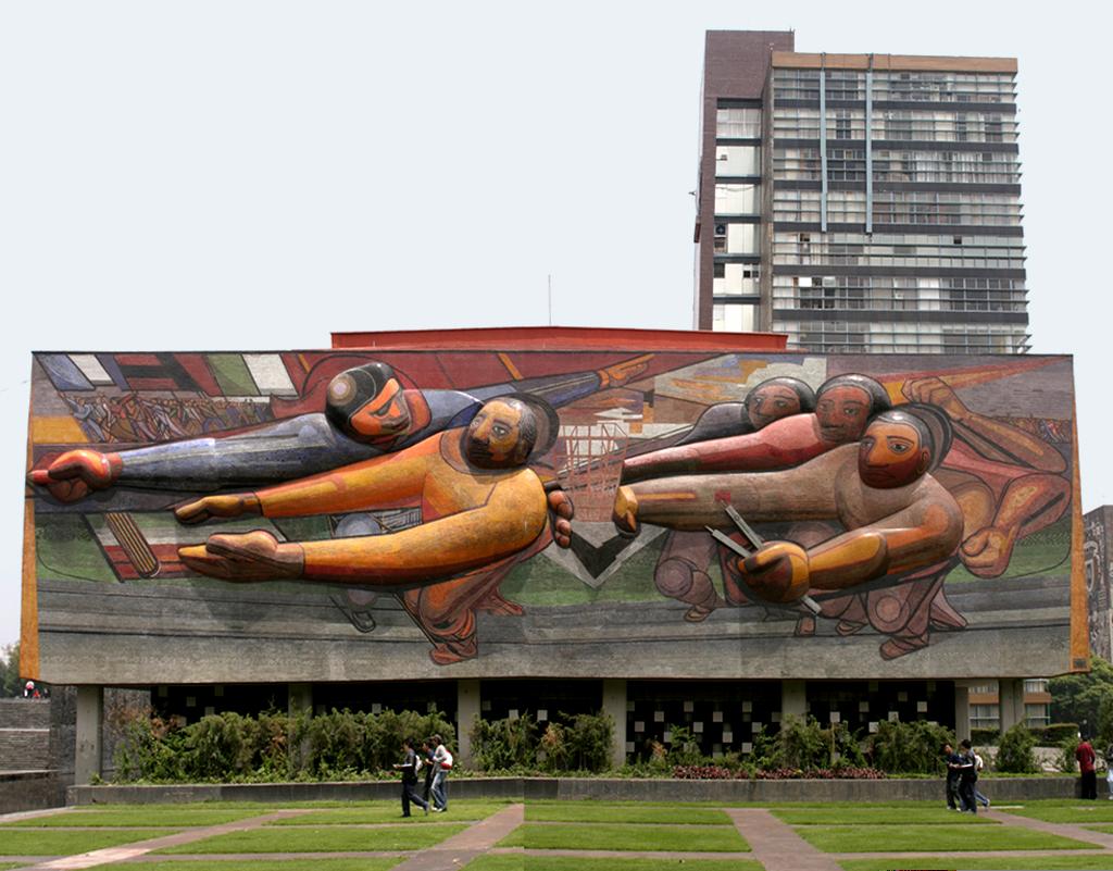 Universidad nacional autonoma de mexico main campus for Universidad de arte