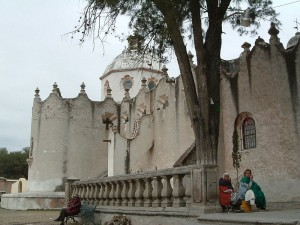 Sanctuary of Atotonilco Fecade