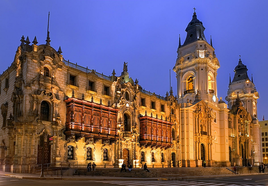 Archbishop S Palace Lima Historical Facts And Pictures