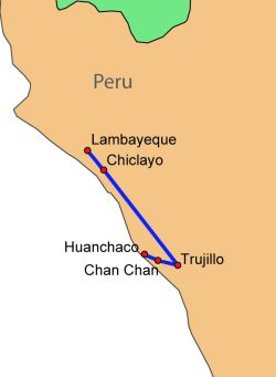 Chan Chan Peru Map.Chan Chan Archaeological Zone Historical Facts And Pictures The