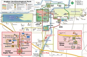 Angkor Thom Map