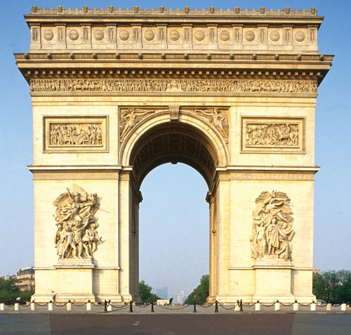 arc de triomphe historical facts and pictures the history hub. Black Bedroom Furniture Sets. Home Design Ideas