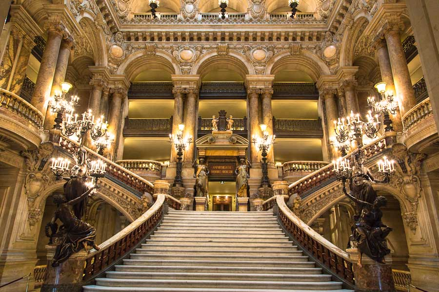 palais garnier historical facts and pictures
