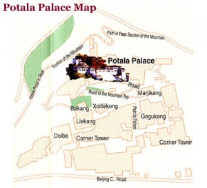 Potala Palace Map