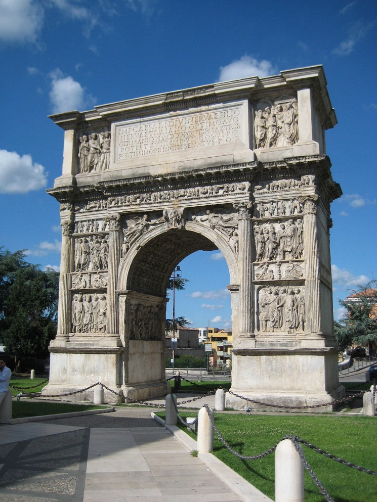 The History Notes England As Papal Fiefdom And Agreement: Arch Of Trajan (Benevento) Historical Facts And Pictures