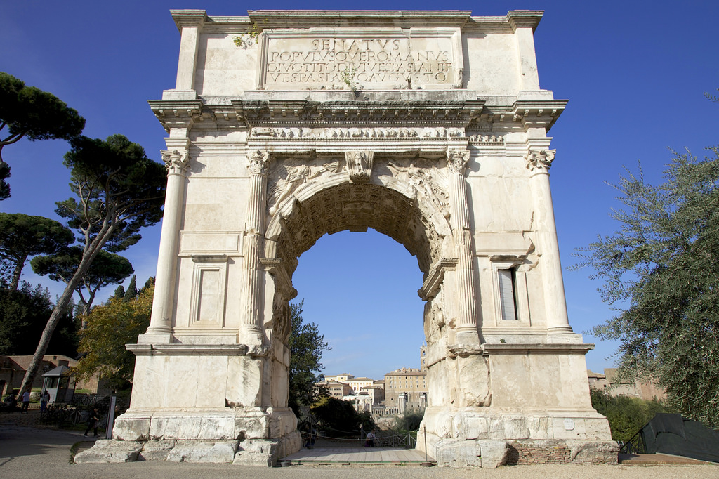 arch of titus rome historical facts and pictures the