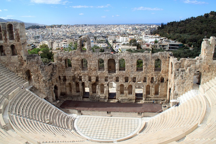 a look at the history of ancient greek theater Classical drama and the origins of greek theatre though in light of theatre and ancient history the goating voice explanation makes better.