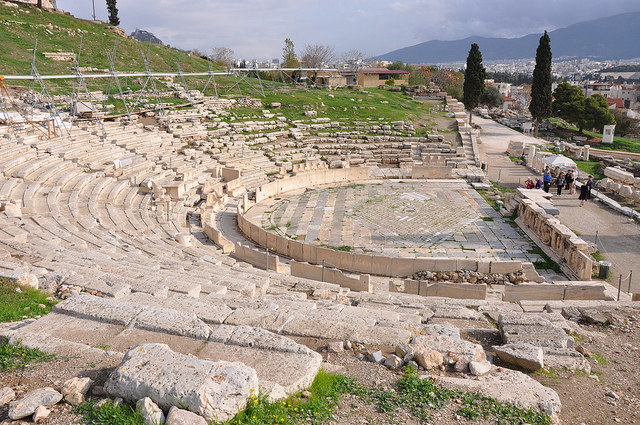 Theatre of Dionysus Historical Facts and Pictures  The ...